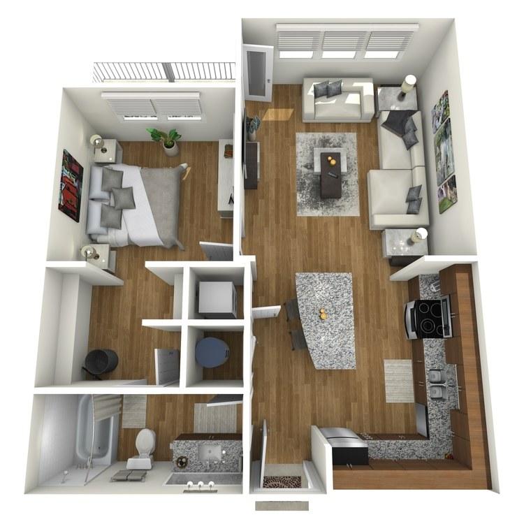Floor plan image of Chagall
