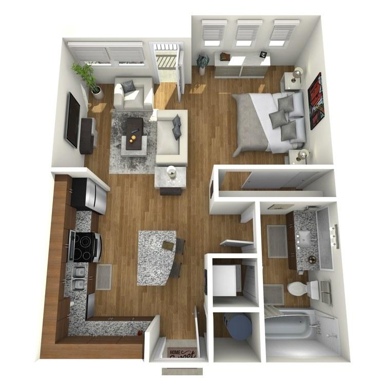 Floor plan image of Cassatt