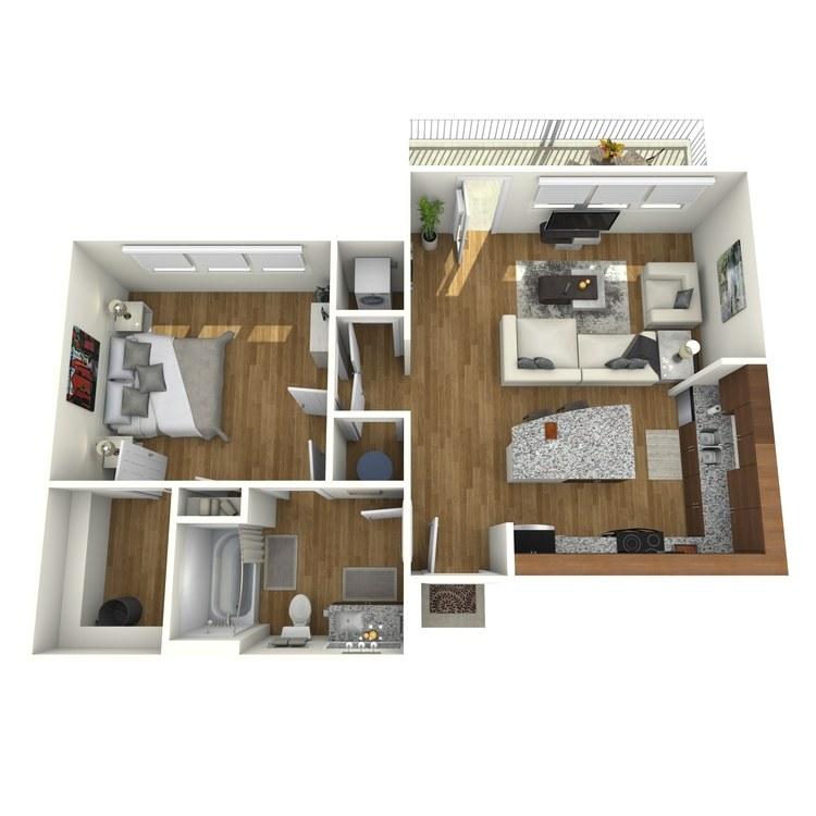 Floor plan image of Dali