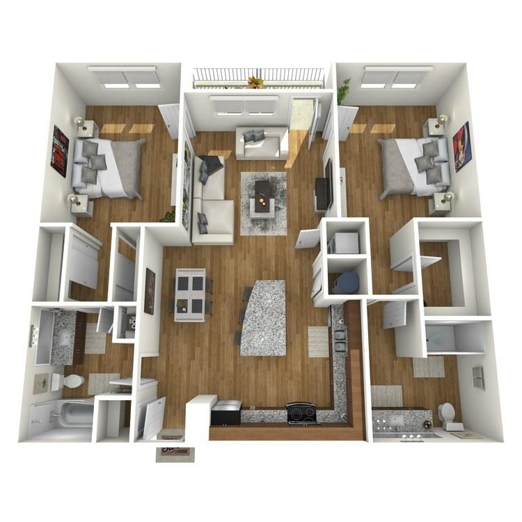 St Petersburg Fl Apartments: Hermitage Luxury Apartment Homes