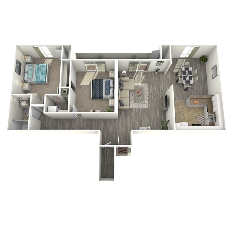 Floor plan image of The Eisenhower