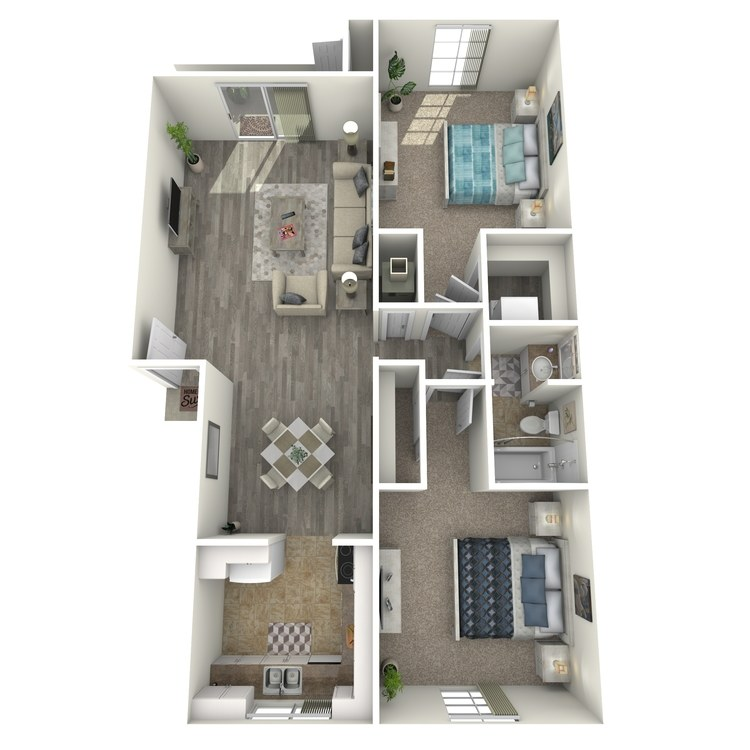 Floor plan image of The Braxton