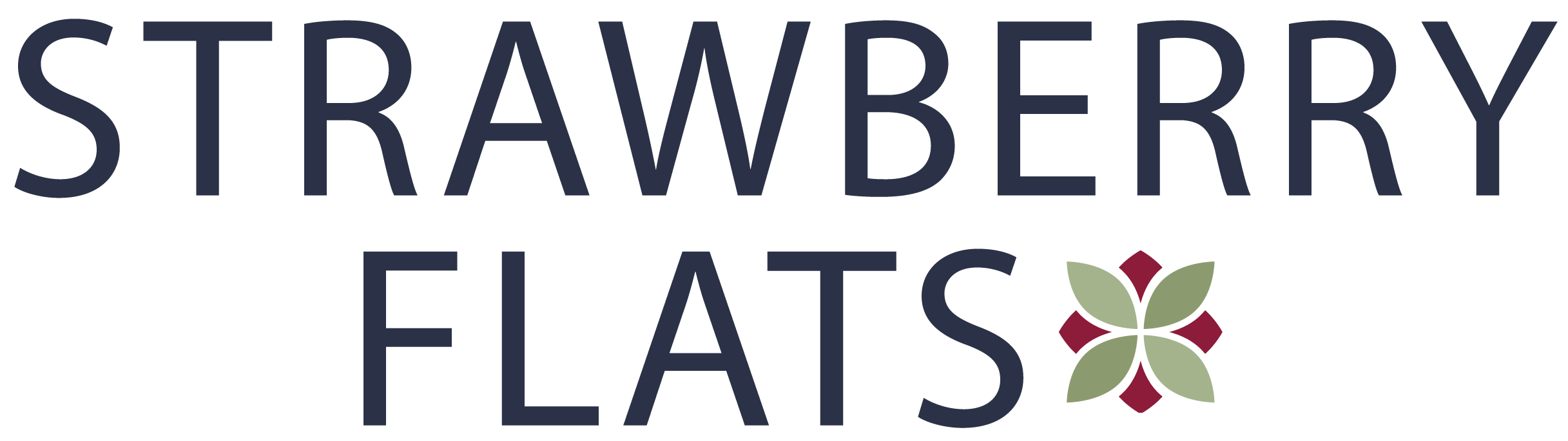 Strawberry Flats Logo