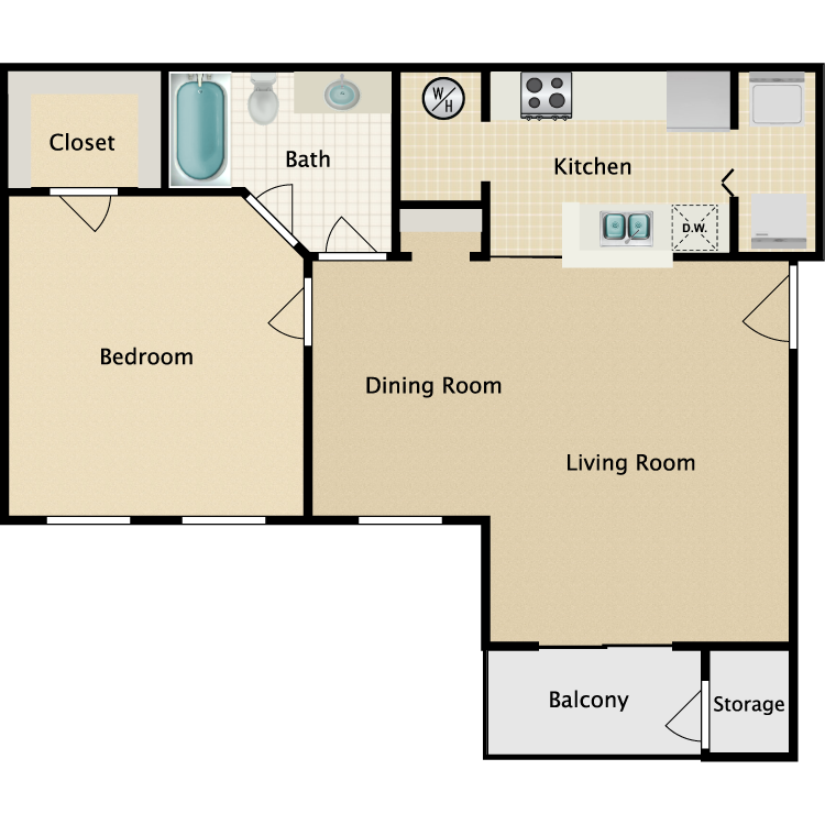 Floor plan image of Broadmoor