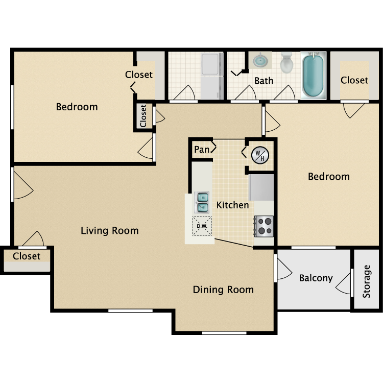Floor plan image of Drake