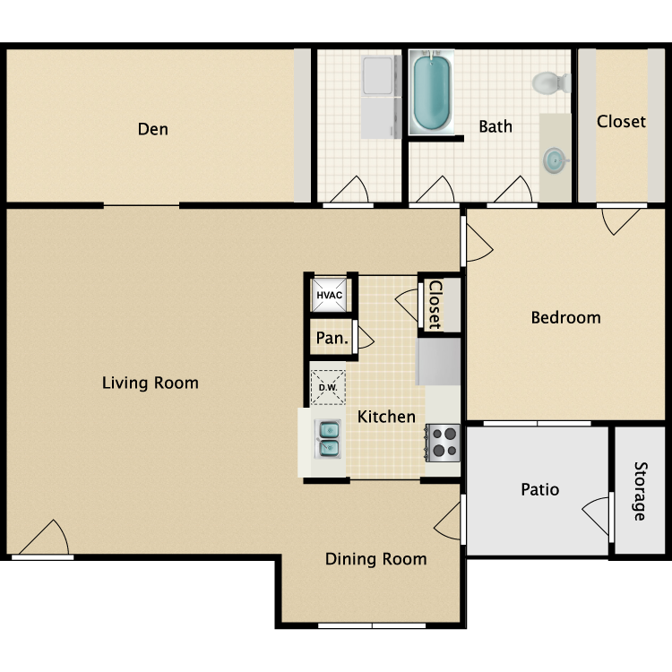 Floor plan image of Tremont