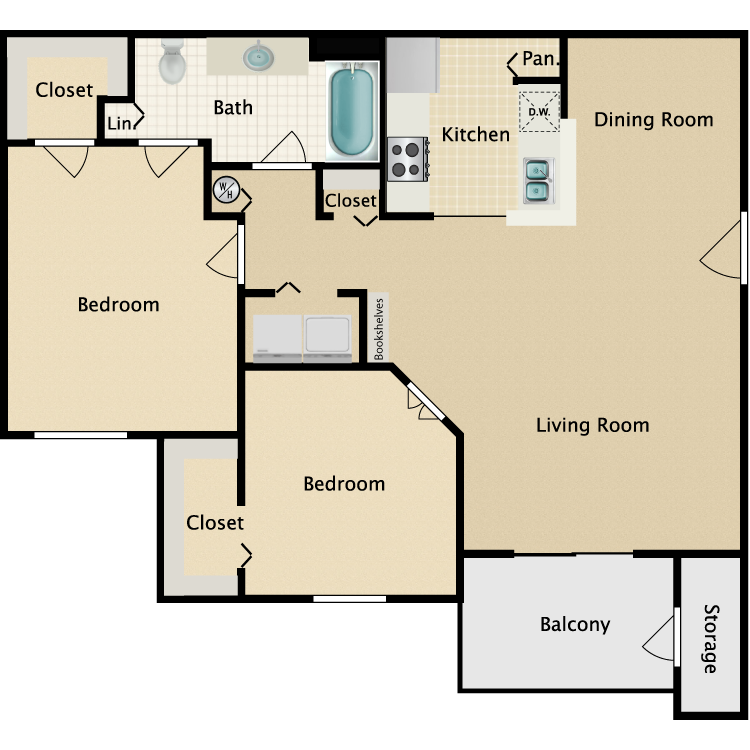 Floor plan image of Wilmington