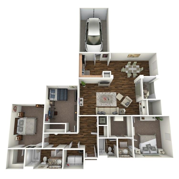 Floor plan image of Pinot Grigio