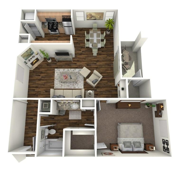 Floor plan image of Zinfandel