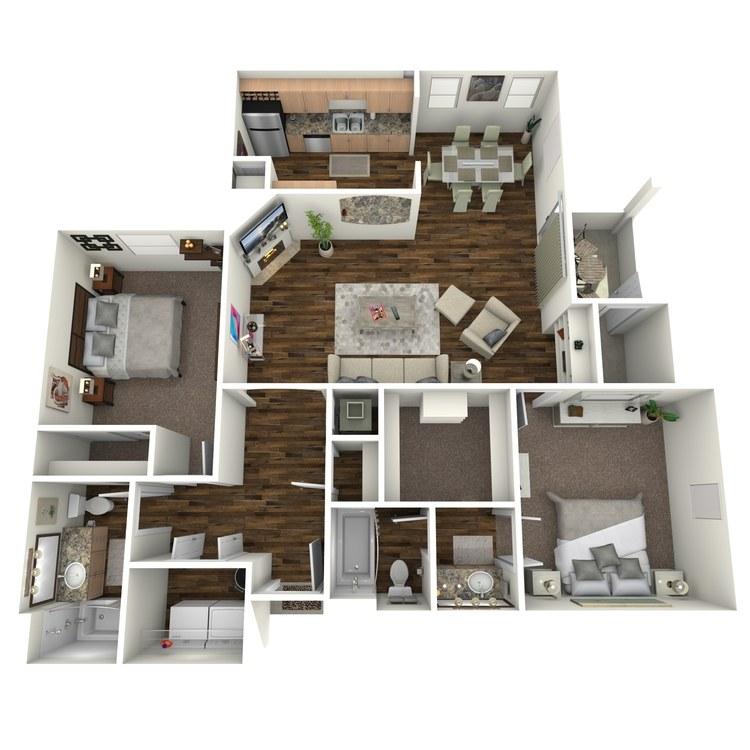 Floor plan image of Sauvignon