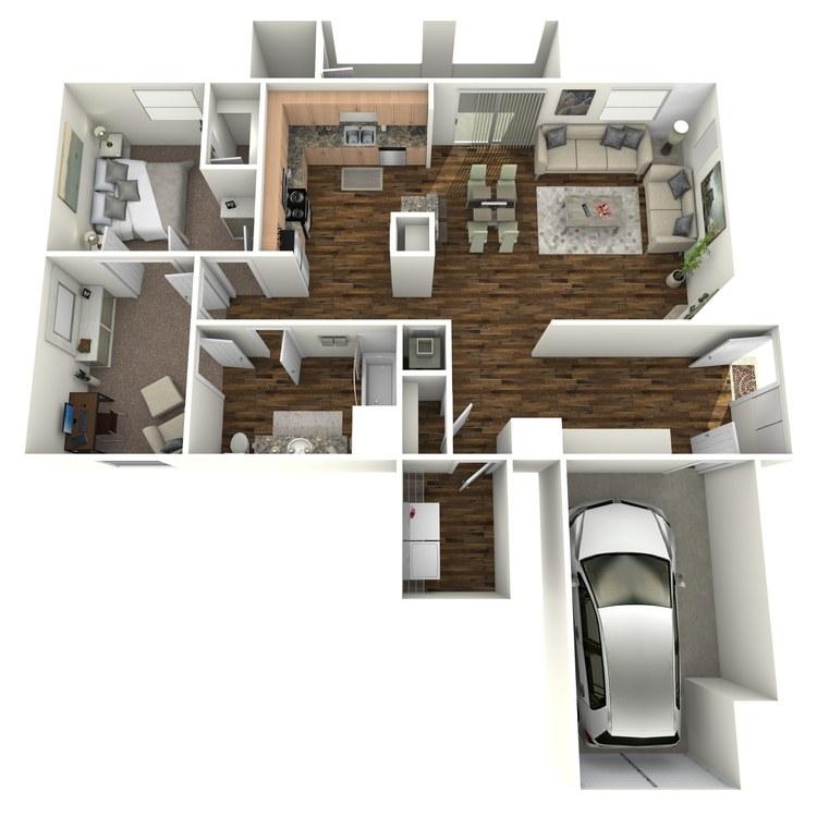 Floor plan image of Barbera + Den