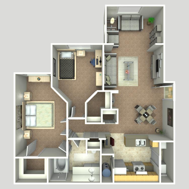 Floor plan image of Siena