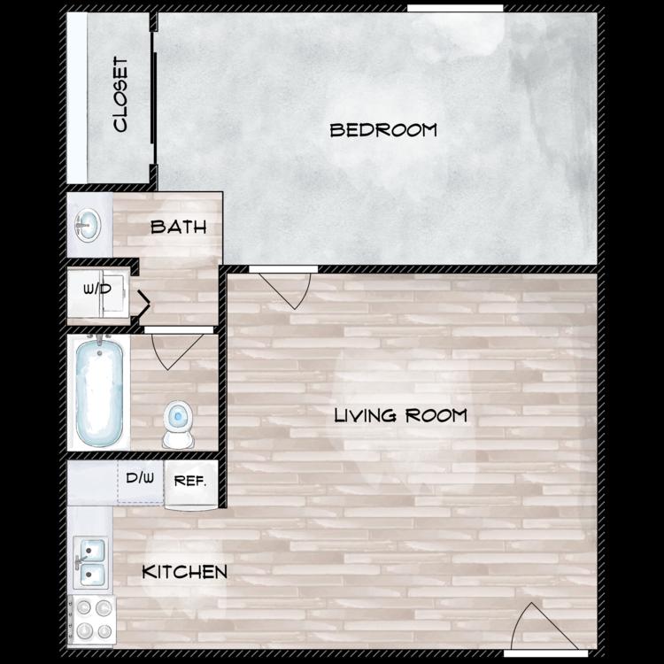 Floor plan image of The Mae