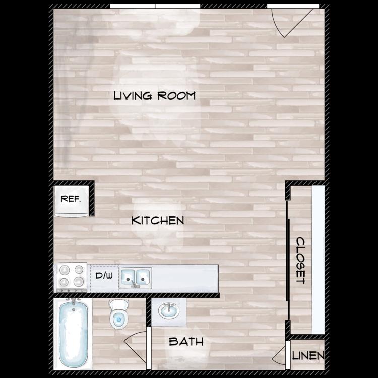 Floor plan image of The Dexter