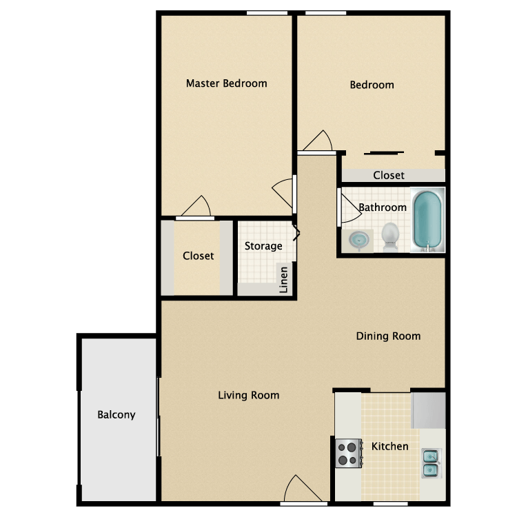Floor plan image of B1 Nottingham