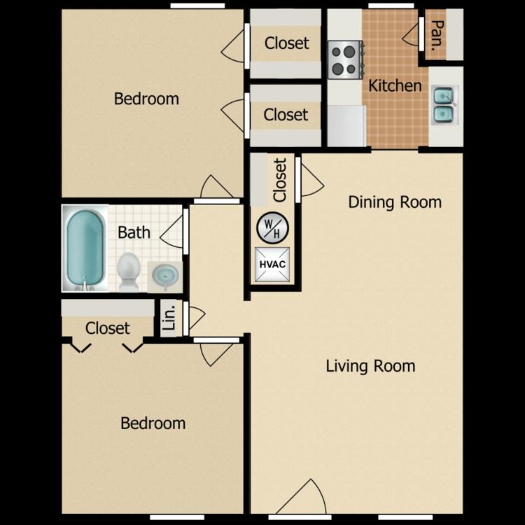 C floor plan image