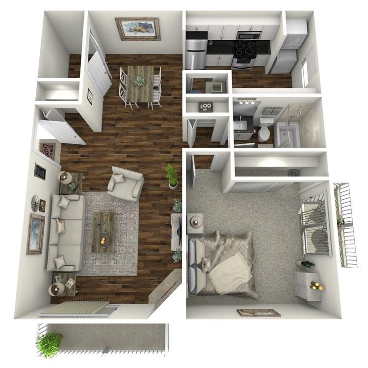 Floor plan image of The Singleton