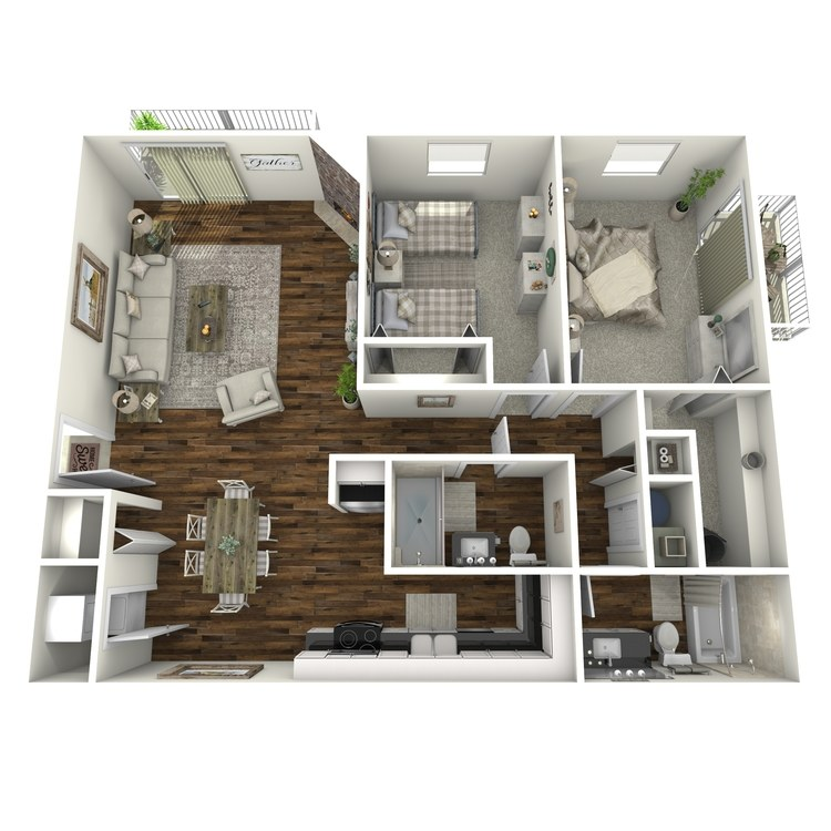 Floor plan image of The Clarington