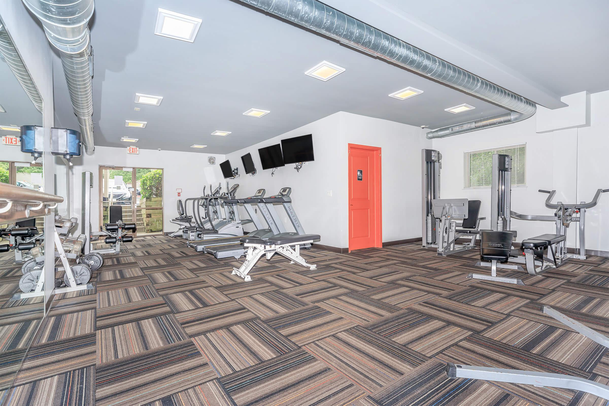 Fitness Center at Huntington Square Apartments in Columbia, MD