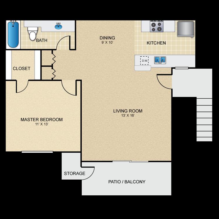 Floor plan image of Seabreeze