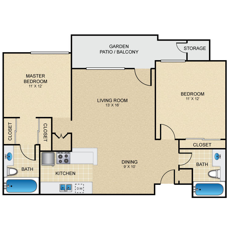 Floor plan image of Sandollar