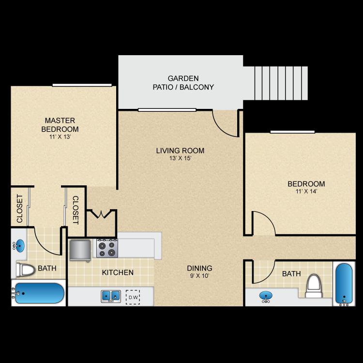 Floor plan image of Spindrift