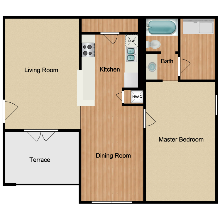 Floor plan image of Azalea