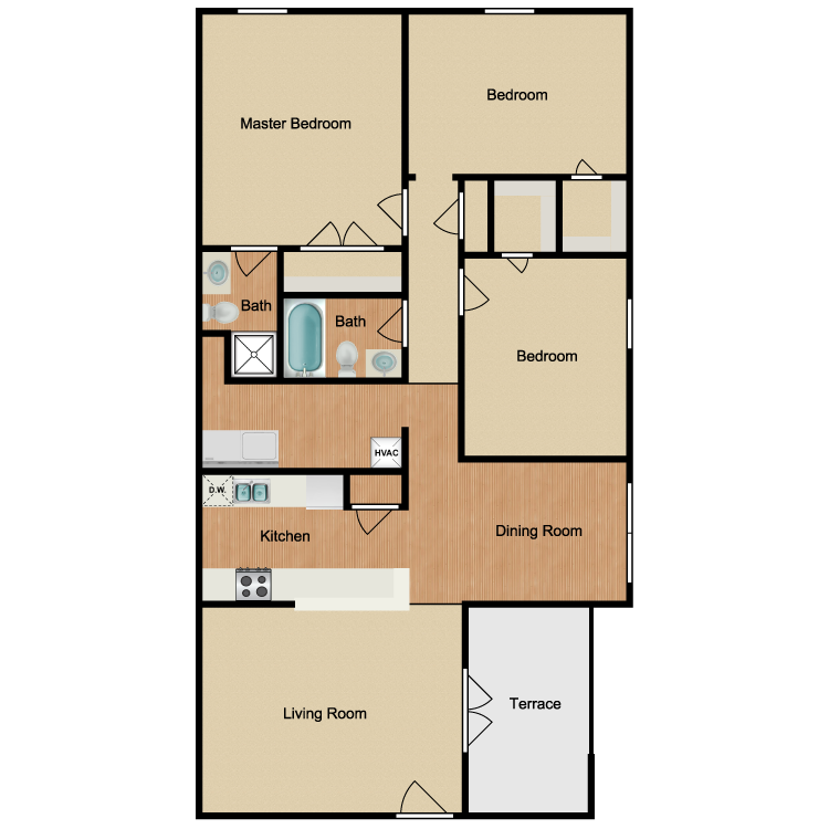 Floor plan image of Palmetto