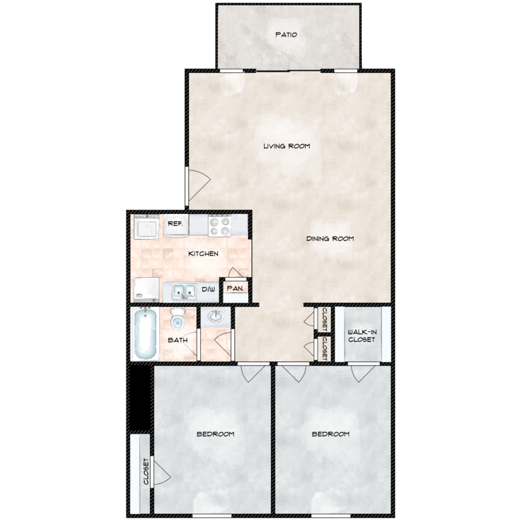 Floor plan image of The Abbey