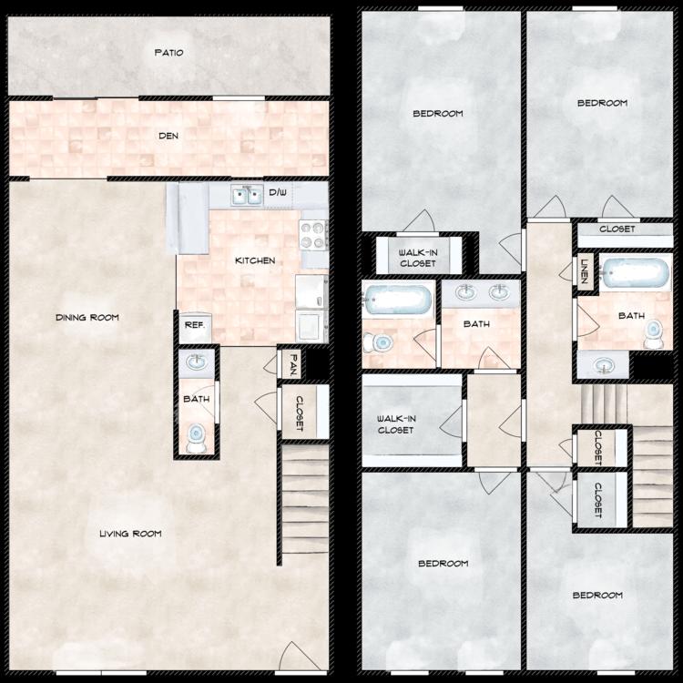 Floor plan image of The Castle