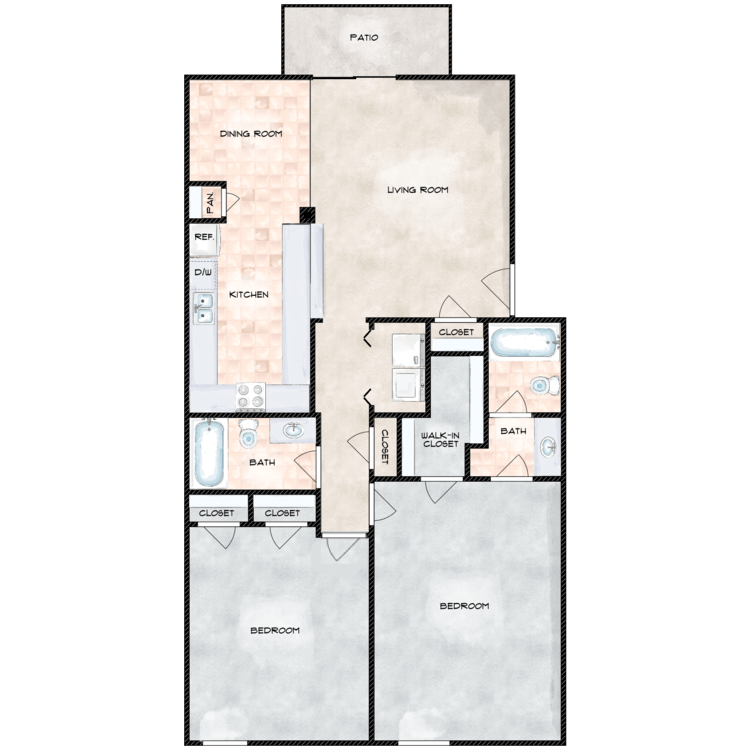 Floor plan image of The Chateau R