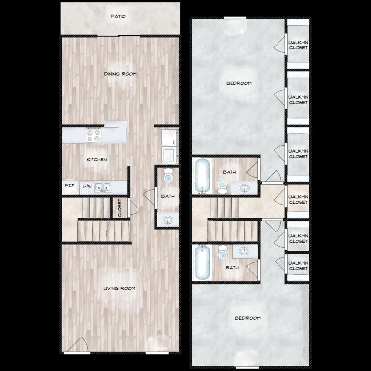 Floor plan image of The Garrison