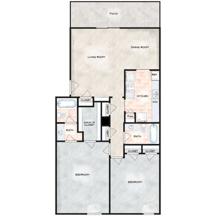 Floor plan image of The Province R