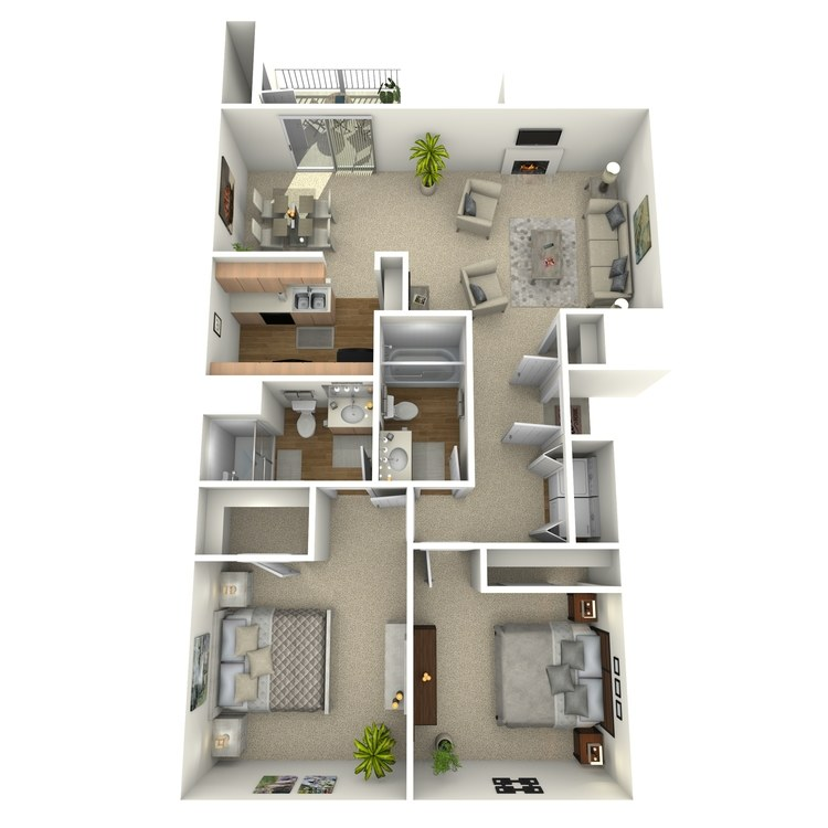 Floor plan image of Saguaro