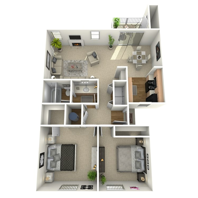Floor plan image of Manzanita