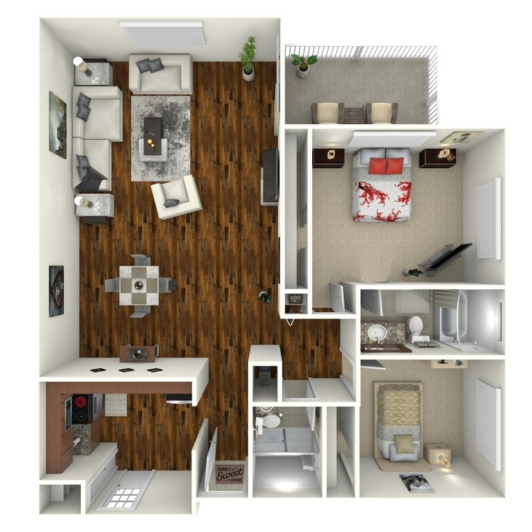 Floor plan image of Tequesta