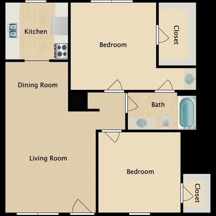 Floor plan image of B Plan