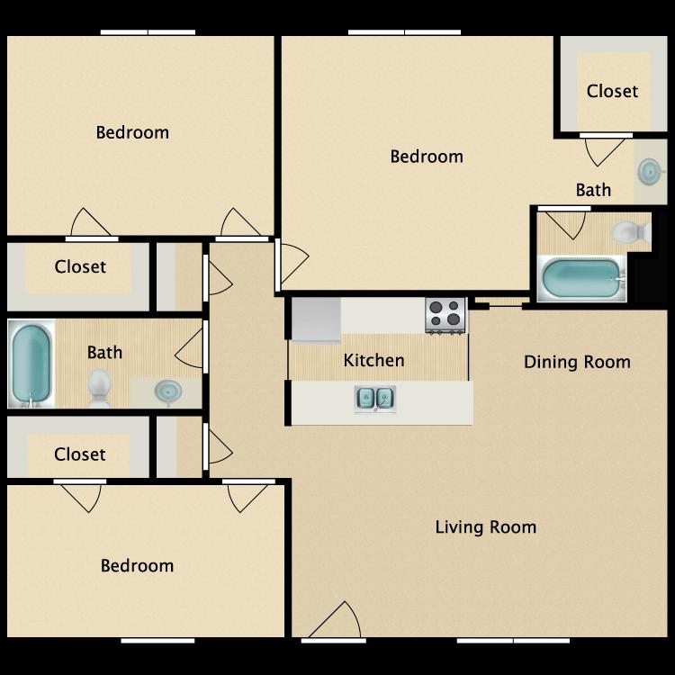 Floor plan image of E Plan
