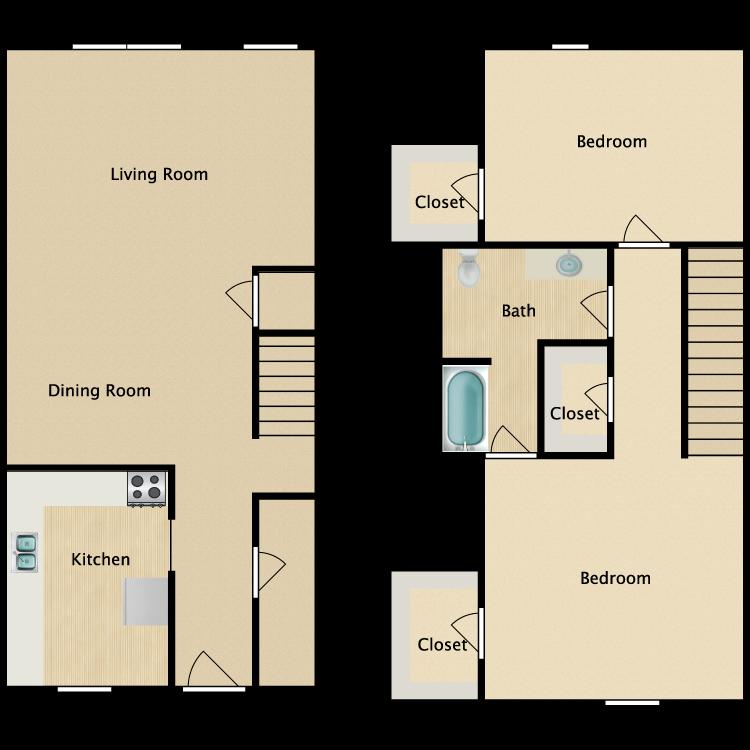 Floor plan image of F Plan TH