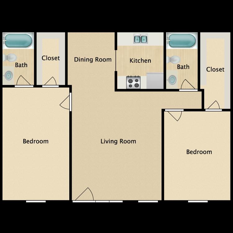 Floor plan image of G Plan