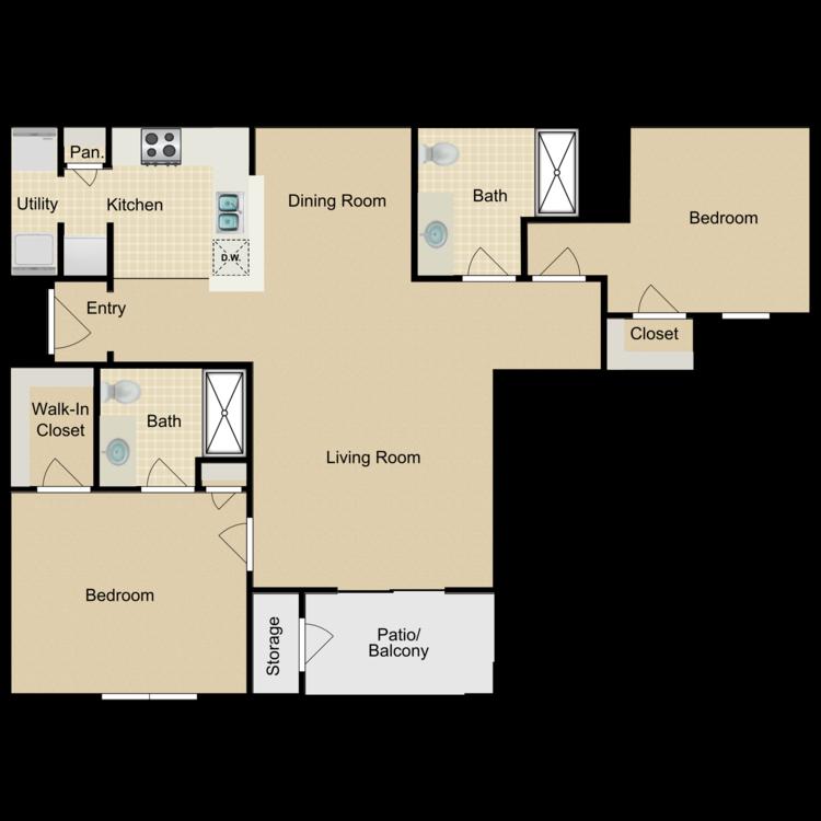 Floor plan image of Juniper