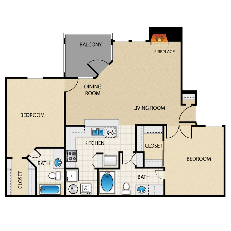 Floor plan image of Beach Comber