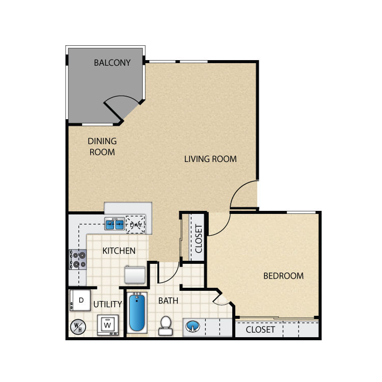 Floor plan image of Islander