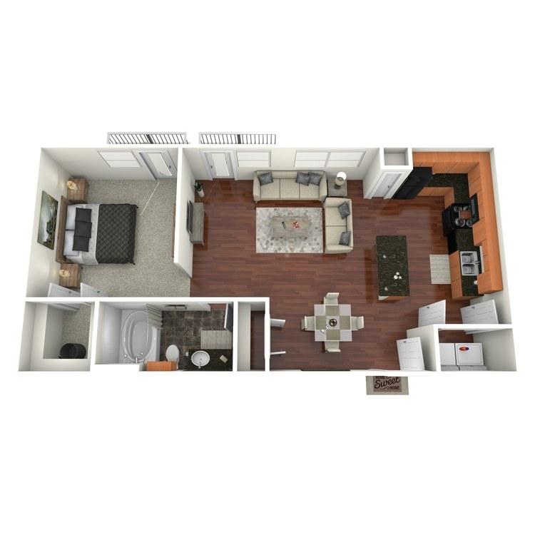 Floor plan image of Akard