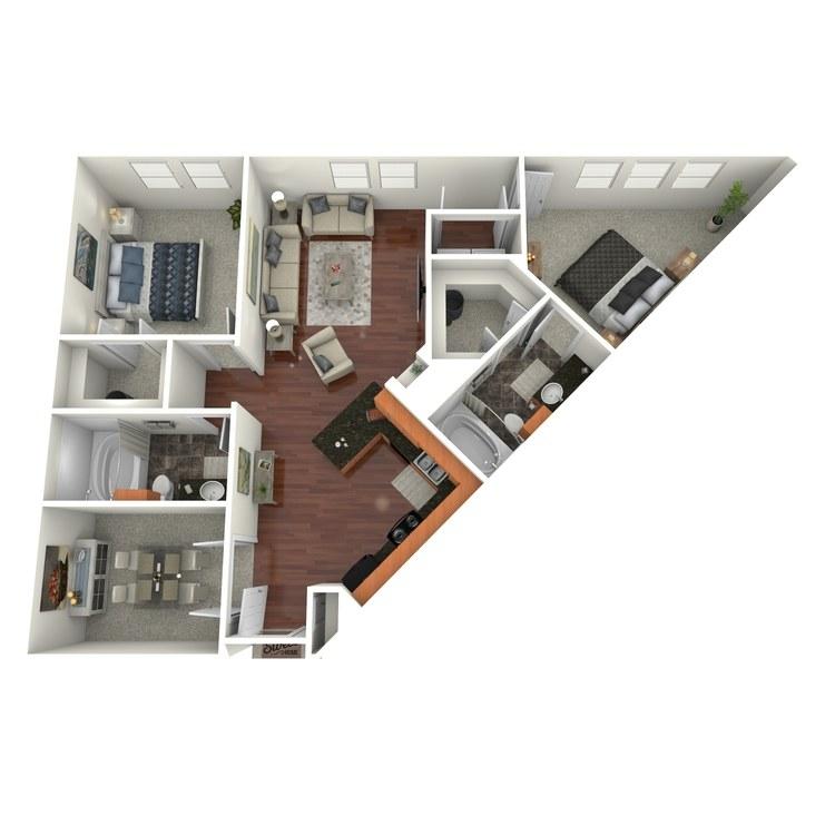 Floor plan image of McKinney