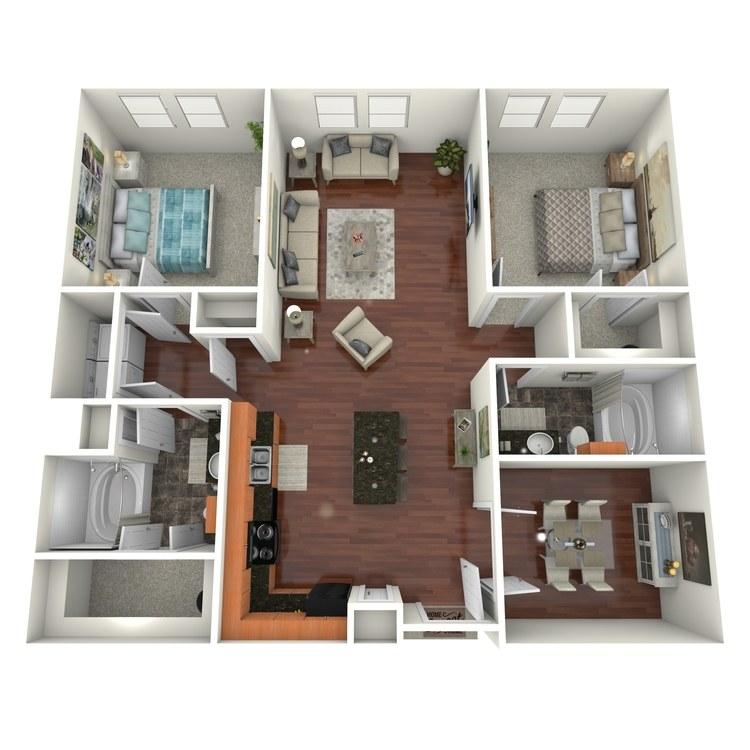 Floor plan image of Lemmon