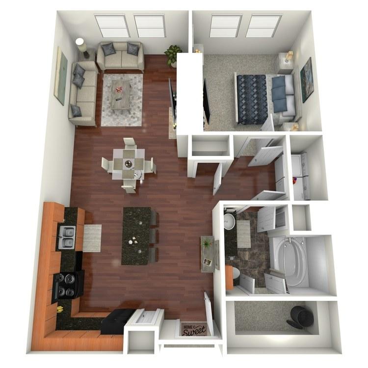 Floor plan image of Munger