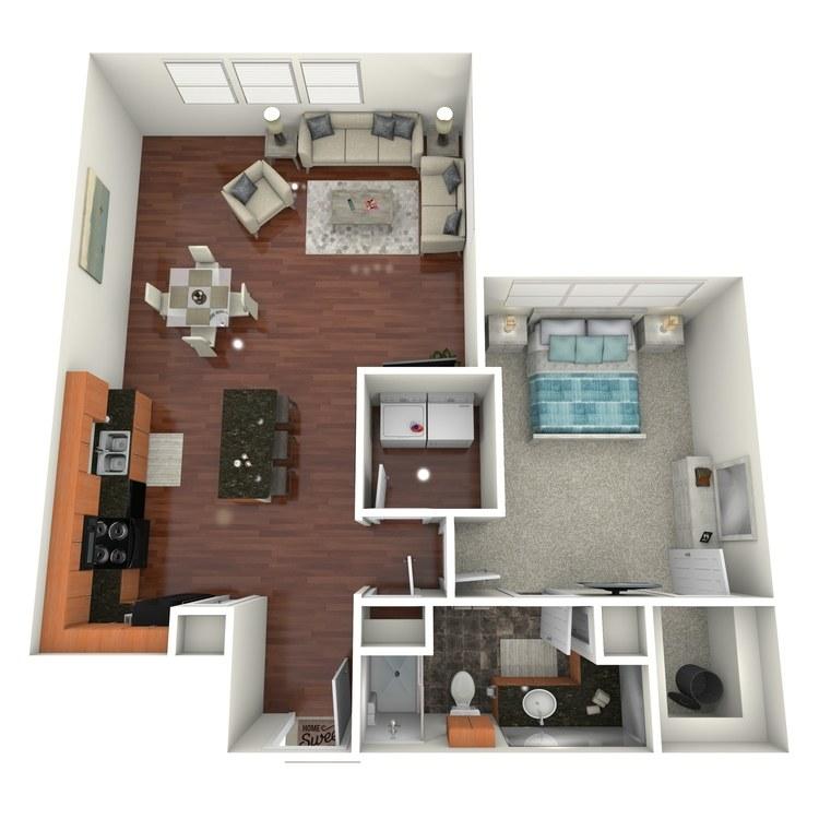 Floor plan image of St. Paul