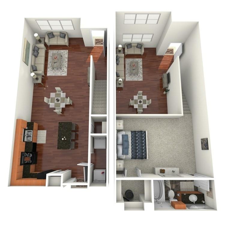 Floor plan image of Pearl