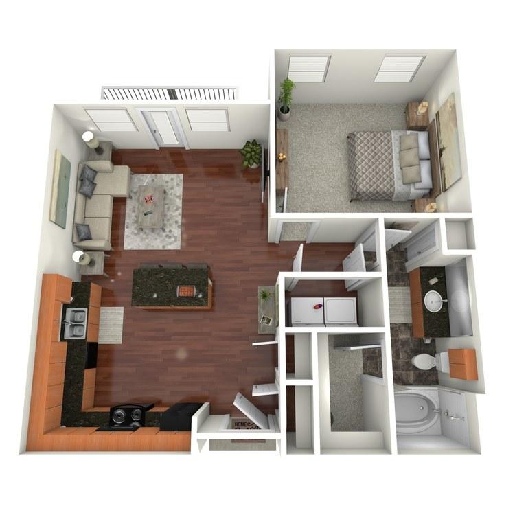 Floor plan image of Mockingbird
